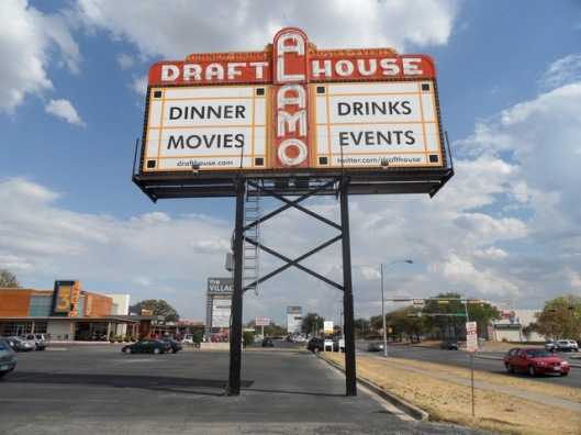 Alamo Drafthouse sign